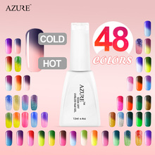 Special Price 48 Colors Azure nail hard gel Nail Polish uv color change nail gel