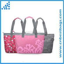 Colorful shopping handle Bag ,shoulder bag for youth Nylon fashion leisure bag
