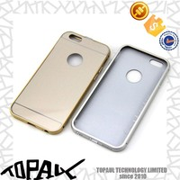 Wholesale metal phone case phone accessory cheap phone cases for iphone 6