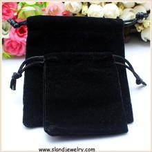any colors Customized logo printed velvet drawsting bag/velvet gift bag pouches for jewelry/ velvet drawstring jewelry pouches