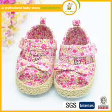 Hand Made Newborn Baby Shoes with flower for girls babies 2015 happy baby shoes