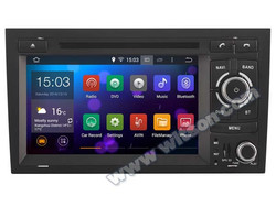 WITSON Android 4.4 DOUBLE DIN CAR DVD GPS FOR AUDI A4 2002-2008 1080P HD VIDEO 1.6GHZ Frequency DVR 3D MAP