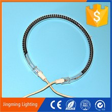silicon rubber heater element infrared heat lamps