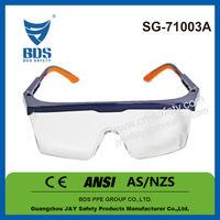 2015 Wholesale free sample polycarbonate lens safety glasses meet ce en166 and ansi z87.1 safety glasses