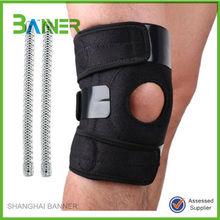 Running open holes Velcro adjustable neoprene knee brace support pad