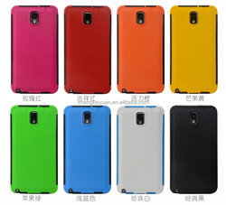 Cell phone accesories TPU PC Touching Screen Hybrid Phone Case For samsung galaxy note 3