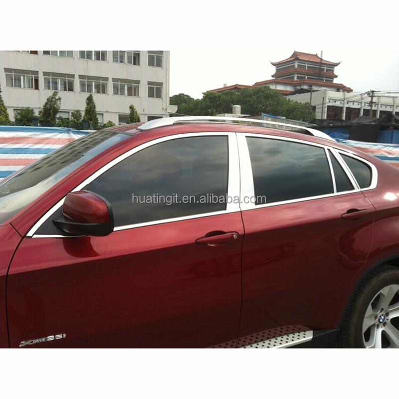 Wholesale Stainless Steel Auto Accessories Exterior Car Moulding Trims Car Window Trim For Bmw