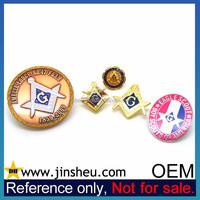 China OEM Manufacturer Bulk Cheap Custom Masonic Lapel Pin