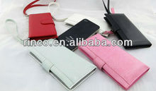 Universal Wallet Leather Case Cover Pouch for iPhone 5G 4G 3G