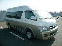 TOYOTA HIACE 2006 ID{672} JAPANESE USED CARS SECOND HAND VEHICLE