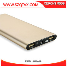 Best Choice 6000mah Portable Mobile Phone Charger In Travel For Iphone Charging