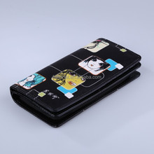 Guangzhou New Design PU Wallets and Purses with zipper/Wholesale Fashion Gift
