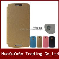 Pudini YUSI Rain series flip stand leather phone cases cover for Motorola Moto X Play