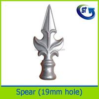 Australian fence Gate aluminium spear tops for fence