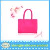 High capacity bag silicone/ EasyClean handbag /attractive tote bags