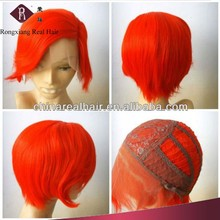 Professional Heat Resistant Synthetic Hair Lace Front wig cosplay