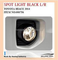 Toyota hiace fog lamps 2014 spot light