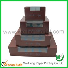 2012 hot sales cake box packing
