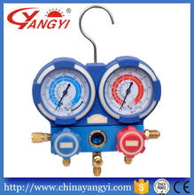 refrigerant manifold gauge dual Digital pressure gauge apply for R410A R22 R134a R407C