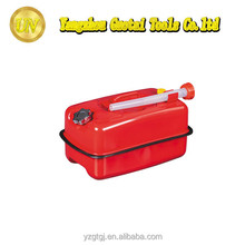 Hot sold jerry can red steel 20ltr for car