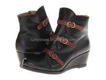 Ladies Winter Shiny Boots wedge