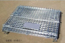 Folding Wire Mesh Cage/pallet Bins - Buy Folding Wire Mesh Cage