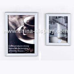 Advertising aluminum snap poster frame for shop