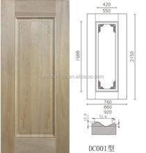 Interior doors natural wood cabinet veneer skin, mdf door skin