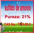 Fertilizantes Amonio de Sulfato Blanco Granular