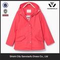 Baratos por atacado de roupas indianas para crianças leve com capuz vermelho roupa dos miúdos 2015