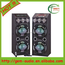 "Professional Dual 12"" Active big bass subwoofer for stage/KTV/outdoor activities Gem-60046"