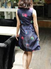 Para as mulheres bonito e colorido boa reputação flores de tecido para vestidos