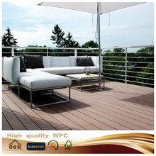 145mm*30mm Wood Plastic Composite , Recyclable, wpc pergola