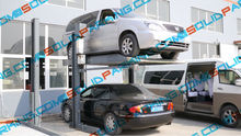 Sharing Post Design Can Save Both The Cost And The Space smart car two post parking lift
