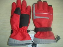 2012 lady's fashion winter waterproof ski gloves