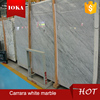 Factory low price polished Carrara White marble