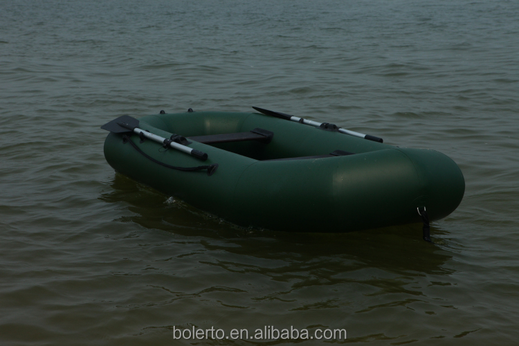 Center inflatable boat aluminum floor fishing boat for for Inflatable fishing boats for sale