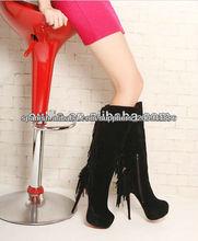 popular maduras mulheres moda sexy sapatos de salto alto botas py2543