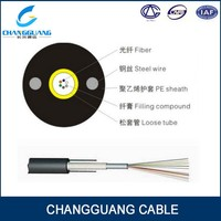 Micro blowing duct type cable GYXY outdoor 4 core multimode fiber optic cable