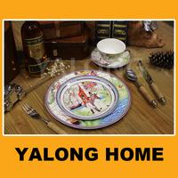 High New Bone China English Porcelain Tableware Ceramic Dish Plate