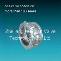 PN40 Single Disc Non-Slam Check Valve /ss316 wafer check valve /vertical lift check valve