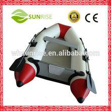 Caliente- la venta botes inflables de pvc con suelo de aluminio