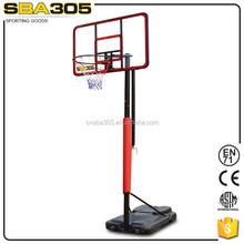 metal adjustable easyscore basketball stand set