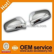 Plastic chrome side mirror cover of chevrolet impala