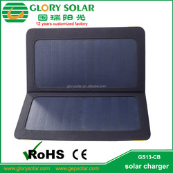 Portable Solar Multiple Mobile Phone Charger