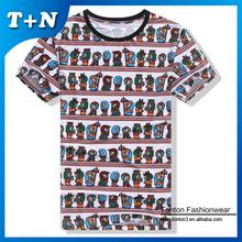 no label design your own t shirt hip hop 3d printing t-shirt