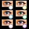 EOS Ice II beautiful cosmetic cheap korea color contact lenses wholesale colored contacts