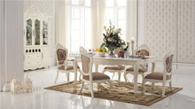 Elegant and noble european style dining room furniture