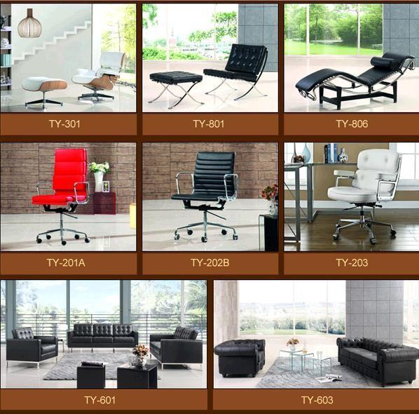 현대적인 거실 가구 르 corbusier lc4 긴 라운지 의자 살이 포동 ...
