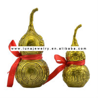 Luckly Buddha In The Brass Wu Lou,feng shui Wu Lou-Gourds small size less moq